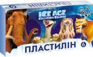 Пластилін Льодовиковий період 6 кольорів Міцар+