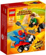 Конструктор LEGO Super Heroes Mighty Micros Пурпурный Паук против Песчаного человека 76089
