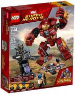Конструктор LEGO Super Heroes Marvel Розгром Халкбастера 76104