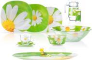 Сервіз столовий Carine Paquerette Green 46 предметів на 6 персон N4870 Luminarc