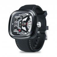 Умные смарт часы Zeblaze Hybrid 2 с измерением давления Черный (swzebhybr2bl)