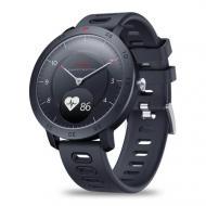 Умные смарт часы Zeblaze Hybrid с сенсорным управлением Черный (swzebhybrbl)