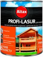 Лазурь Altax Profi-Lasur бесцветный шелковистый мат 0,75 л
