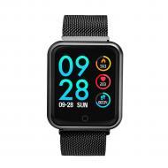 Смарт-часы Smart Watch P68 с измерением давления Черный (swlemp68bl)