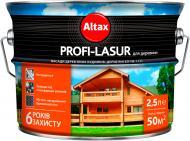 Лазурь Altax Profi-Lasur бесцветный шелковистый мат 2,5 л