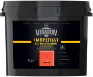 Импрегнат Vidaron огнезащитный концентрат 1:4 красный не создает пленку 5 кг