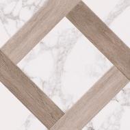 Плитка Golden Tile Marmo Wood Grate білий 4V0880 40x40