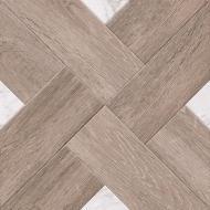 Плитка Golden Tile Marmo Wood Cross темно-бежевый 4VН870 40х40