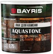 Лак для камня Aquastone Bayris шелковистый глянец 0,75 л