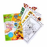 Набір для малювання Mini Kids зі стикерами Paw Patrol Crayola