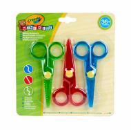 Ножницы детские Mini Kids 3 шт./уп. Crayola 256411.118