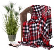 Плед Flannel CHECK RED 150x200 см червоний La Nuit