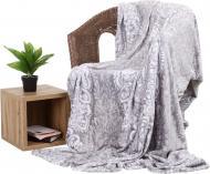 Плед Flannel PAISLEY 200x220 см сірий La Nuit