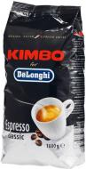 Кава в зернах Kimbo DeLonghi Espresso Classic 1 кг (8002200140458)