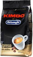 Кава в зернах Kimbo DeLonghi Arabica 250 г (8002200109226)