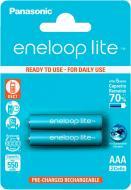 Акумулятор Panasonic Eneloop Lite AAA (R03, 286) 2 шт. (BK-4LCCE/2BE)