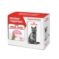 Корм Royal Canin Kitten Sterilised 2 кг + контейнер для зберігання корму