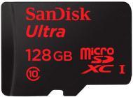 Карта пам'яті SanDisk microSDXC 128GB + SD adapter (SDSQUNC-128G-GN6MA)