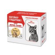 Корм Royal Canin Bengal Adult 2 кг + контейнер для зберігання корму
