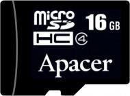 Карта пам'яті Apacer microSDHC 16 ГБ Class 4 (AP16GMCSH4-RA) AP16GMCSH4-RA