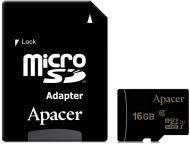 Карта пам'яті Apacer microSDHC 16 ГБ UHS Speed Class 1 (U1)Class 10 (AP16GMCSH10U6-R) AP16GMCSH10U6-R