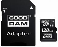 Карта пам'яті Goodram microSDXC 128 ГБ Class 10UHS-I Class 3 (U3) (M1AA-1280R12)