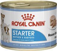 Корм Royal Canin для собак STARTER MOUSSE (Стартер Мазер & Бебідог мус), банка, 195 г