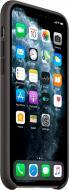 Чохол Apple з натуральної шкіри для Apple iPhone 11 Pro black (MWYE2ZM/A) Leather Case