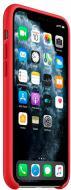 Чохол Apple силіконовий для Apple iPhone 11 Pro Max red (MWYV2ZM/A)