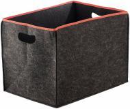 Короб для зберігання текстильний з окантовкою 400x600x400 мм