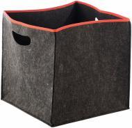 Короб для зберігання текстильний з окантовкою 300x300x300 мм