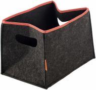 Короб для зберігання текстильний з окантовкою 300x420x300 мм