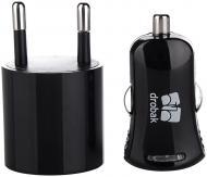 Зарядный комплект Drobak Power 3 в 1 Black (905319)