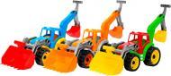 Іграшка ТехноК Трактор з двома ковшами 3671