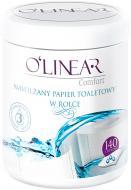 Туалетний папір вологий O'Linear 140 лист./рулон 1 шт.