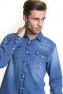 Рубашка BigStar FACELOS 141619290 р. M голубой