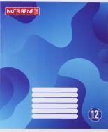 Зошит шкільний 12 аркушів клітинка Nota Bene