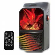 Портативный тепловентилятор электрический с имитацией пламени Flame Heater Warmer дуйка обогреватель