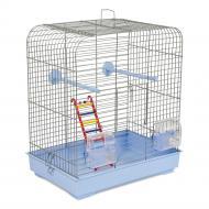Клітка Природа для птахів Белла хром/світло-блакитна PR241486