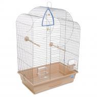 Клітка Природа для птахів Воля, хром/бежева PR241485