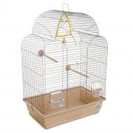 Клітка Природа для птахів Ізабель-1, хром/бежева