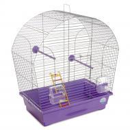 Клітка Природа для птахів Ліна, хром/фіолетова PR241475