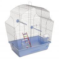 Клітка Природа для птахів Мері хром/світло-блакитна PR241471