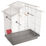 Клітка Природа для птахів Німфа хром/сіра PR241470