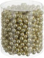 Декорация новогодняя Бусы шампань 0,8х800 см