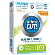 Пральний порошок для машинного та ручного прання Alles GUT! ECO Універсальний 0,45 кг