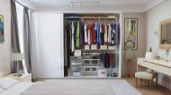 Гардеробная система Larvij в шкаф LWS3 белый