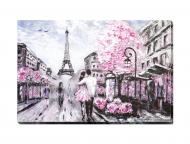 Картина Пара в Париже 60x90 см SvitArt F-419