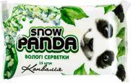 Вологі серветки Сніжна Панда Конвалія 15 шт.