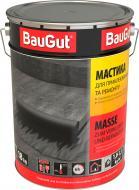 Мастика битумная BauGut для приклеивания и ремонта 18 кг